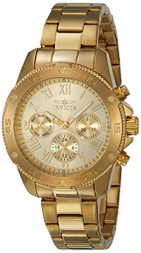 インヴィクタ インビクタ 腕時計 レディース 21731 【送料無料】Invicta Women's Wildflower Quartz Watch with Stainless-Steel Strap, Gold, 18 (Model: 21731)インヴィクタ インビクタ 腕時計 レディース 21731