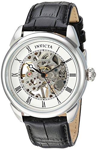 インヴィクタ インビクタ 腕時計 メンズ 23533 【送料無料】Invicta Men's Specialty Stainless Steel Mechanical-Hand-Wind Watch with Polyurethane Strap, Black, 22 (Model: 23533)インヴィクタ インビクタ 腕時計 メンズ 23533