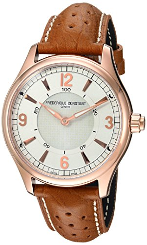 腕時計 フレデリックコンスタント メンズ FC-282AS5B4 【送料無料】Frederique Constant Men's HSW Stainless Steel Swiss-Quartz Watch with Leather Calfskin Strap, Brown, 21 (Model: FC-282AS5B4)腕時計 フレデリックコンスタント メンズ FC-282AS5B4