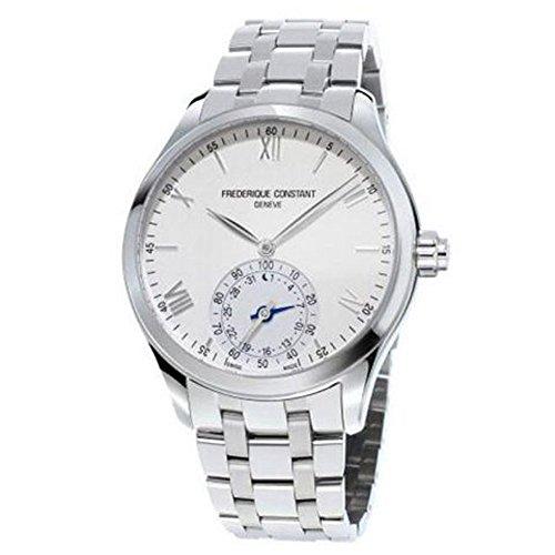 腕時計 フレデリックコンスタント メンズ FC-285S5B6B 【送料無料】Frederique Constant Men's Horological Smart Watch Swiss-Quartz Stainless-Steel Strap, Silver, 21 (Model: FC-285S5B6B)腕時計 フレデリックコンスタント メンズ FC-285S5B6B
