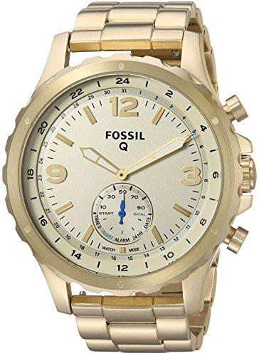 フォッシル 腕時計 メンズ FTW1142 【送料無料】Fossil Q Men's Nate Stainless Steel Hybrid Smartwatch, Color: Gold-Tone (Model: FTW1142)フォッシル 腕時計 メンズ FTW1142