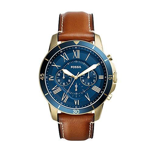 フォッシル 腕時計 メンズ FS5268 【送料無料】Fossil Men's Grant Sport Quartz Leather Watch, Color: Brown (Model: FS5268)フォッシル 腕時計 メンズ FS5268
