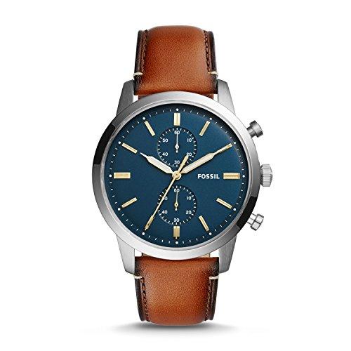 フォッシル 腕時計 メンズ FS5279 【送料無料】Fossil Men's Townsman Quartz Leather Chronograph Watch, Color: Brown (Model: FS5279)フォッシル 腕時計 メンズ FS5279