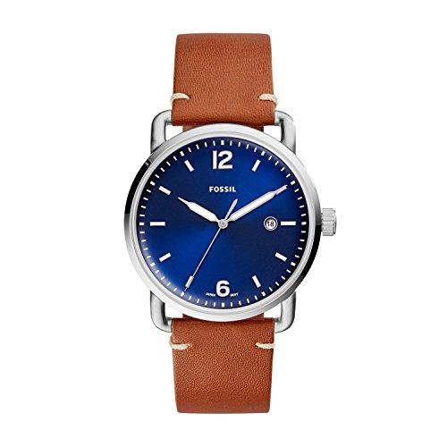 フォッシル 腕時計 メンズ FS5325 【送料無料】Fossil Men's The Commuter Quartz Stainless Steel Watch, Color: Silver-Tone, Brown (Model: FS5325)フォッシル 腕時計 メンズ FS5325