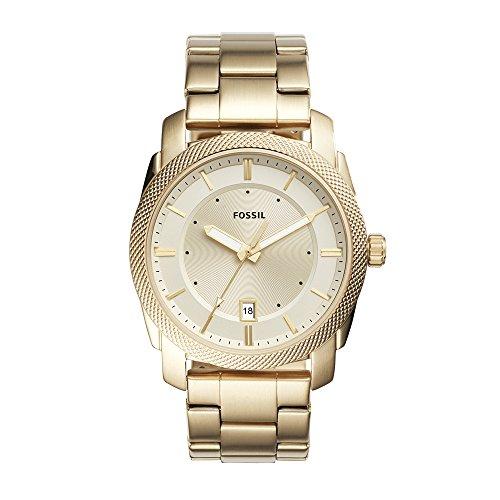 フォッシル 腕時計 メンズ FS5264 【送料無料】Fossil Men's FS5264 Machine Three-Hand Date Gold-Tone Stainless Steel Watchフォッシル 腕時計 メンズ FS5264