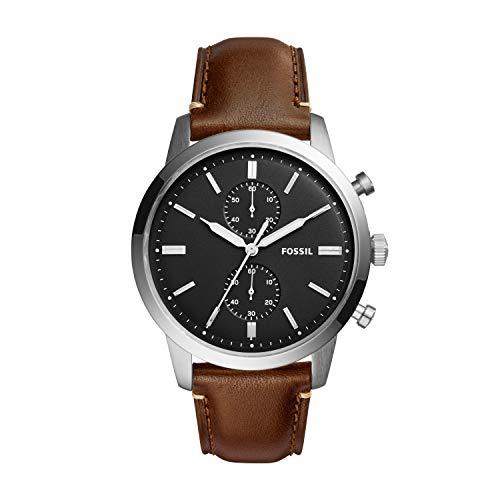 フォッシル 腕時計 メンズ FS5280 【送料無料】Fossil Men's FS5280 Townsman 44mm Chronograph Brown Watchフォッシル 腕時計 メンズ FS5280