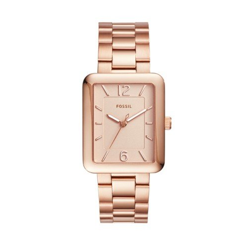 フォッシル 腕時計 レディース ES4156 【送料無料】Fossil Women's ES4156 Atwater Three-Hand Rose Gold-Tone Stainless Steel Watchフォッシル 腕時計 レディース ES4156