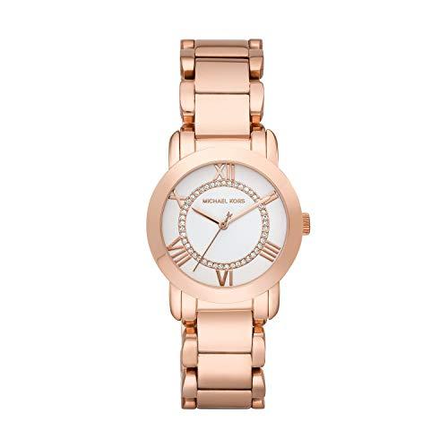 マイケルコース 腕時計 レディース 母の日特集 マイケル・コース 【送料無料】Michael Kors Women's Three Hand Rose Gold-Tone Stainless Steel Watch MK3530マイケルコース 腕時計 レディース 母の日特集 マイケル・コース