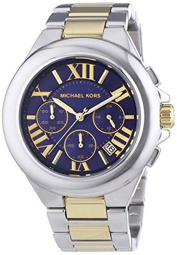 マイケルコース 腕時計 レディース 母の日特集 マイケル・コース MK5758 【送料無料】Michael Kors Women's Camille Two Tone Bracelet Blue Dial Watch MK5758マイケルコース 腕時計 レディース 母の日特集 マイケル・コース MK5758