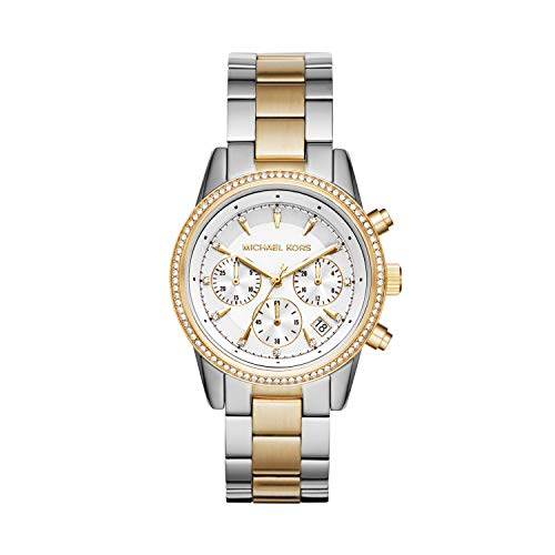 腕時計 マイケルコース レディース マイケル・コース アメリカ直輸入 MK6474 【送料無料】Michael Kors Women's Ritz Silver-Tone Watch MK6474腕時計 マイケルコース レディース マイケル・コース アメリカ直輸入 MK6474