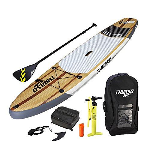スタンドアップパドルボード マリンスポーツ サップボード SUPボード THURSO SURF Waterwalker All Around Inflatable Stand Up Paddle Board SUP 11' x 32'' x 6'' Two Layer Deluxe Package Includスタンドアップパドルボード マリンスポーツ サップボード SUPボード