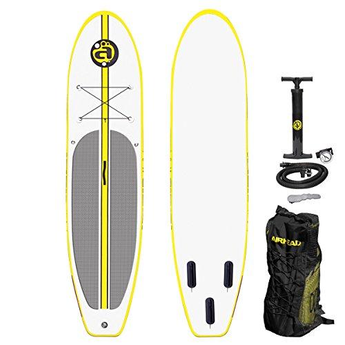 スタンドアップパドルボード マリンスポーツ サップボード SUPボード AHSUP-1 AIRHEAD Stand Up Paddleboard w Seat, Pump, Backpackスタンドアップパドルボード マリンスポーツ サップボード SUPボード AHSUP-1