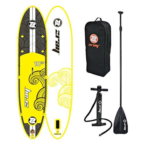 スタンドアップパドルボード マリンスポーツ サップボード SUPボード Zray Inflatable Paddle Board Stand Up SUP Comes with Adjustable Aluminum Paddle/High-Pressure Pump with Gauge/Big Durablスタンドアップパドルボード マリンスポーツ サップボード SUPボード