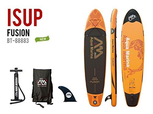 スタンドアップパドルボード マリンスポーツ サップボード SUPボード Aqua Marina Fusion Inflatable Stand Up Paddle Board SUP-515864スタンドアップパドルボード マリンスポーツ サップボード SUPボード