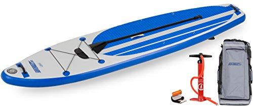 スタンドアップパドルボード マリンスポーツ サップボード SUPボード LB11K_ST 【送料無料】Sea Eagle Inflatable Longboard Stand-up Paddle Board SUP Packageスタンドアップパドルボード マリンスポーツ サップボード SUPボード LB11K_ST