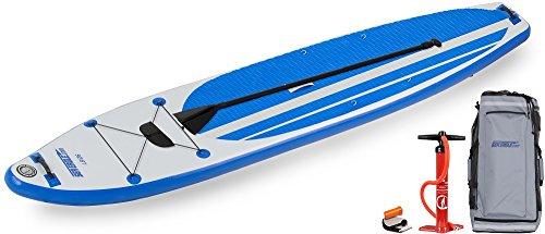 スタンドアップパドルボード マリンスポーツ サップボード SUPボード 【送料無料】Sea Eagle LB126 Inflatable SUP Longboard - Start Up Packageスタンドアップパドルボード マリンスポーツ サップボード SUPボード