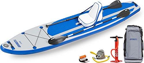 スタンドアップパドルボード マリンスポーツ サップボード SUPボード Sea Eagle LB126 Inflatable SUP Longboard - Deluxe Packageスタンドアップパドルボード マリンスポーツ サップボード SUPボード