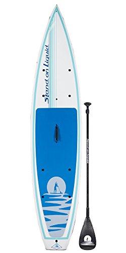 スタンドアップパドルボード マリンスポーツ サップボード SUPボード Stand on Liquid Chelan 12 Foot Touring Stand Up Paddle Board (SUP) Package   Includes Full 100% Carbon Adjustable Paddleスタンドアップパドルボード マリンスポーツ サップボード SUPボード