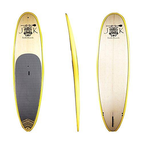 スタンドアップパドルボード マリンスポーツ サップボード SUPボード 10ft Bamboo Extra Wide SUP Stand Up Paddleboard Surfboard Full Package by JKスタンドアップパドルボード マリンスポーツ サップボード SUPボード