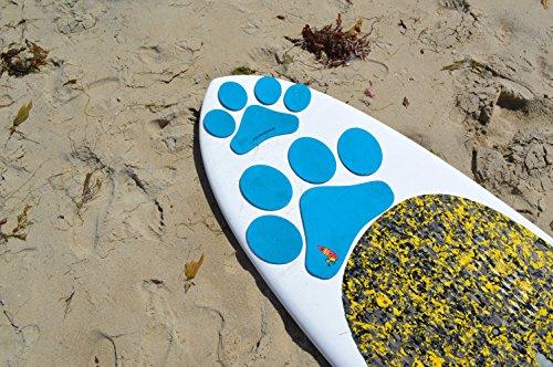 スタンドアップパドルボード マリンスポーツ サップボード SUPボード PUPDECK-PPB Paddle with your dog Pup Deck SUP Traction Pad for Dogs Stand Up Paddleboard Deck Padding. Blue スタンドアップパドルボード マリンスポーツ サップボード SUPボード PUPDECK-PPB