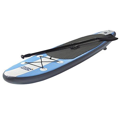 無料ラッピングでプレゼントや贈り物にも。逆輸入並行輸入送料込 スタンドアップパドルボード マリンスポーツ サップボード SUPボード 【送料無料】North Gear 11FT Inflatable SUP Stand up Paddle Board Package White/Ocean Blueスタンドアップパドルボード マリンスポーツ サップボード SUPボード