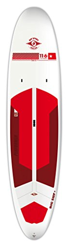 スタンドアップパドルボード マリンスポーツ サップボード SUPボード TOUGH-TEC Performer BIC Sport Tough-TEC Performer Sup Stand Up Paddleboard, White/Red/Maroon, 11'6