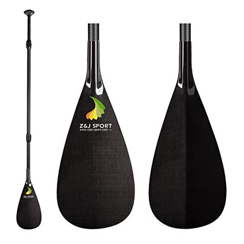 スタンドアップパドルボード マリンスポーツ サップボード SUPボード ZJ Sport 3-Piece Adjustable Carbon Stand Up SUP Paddle (SM, 68''-87'')スタンドアップパドルボード マリンスポーツ サップボード SUPボード