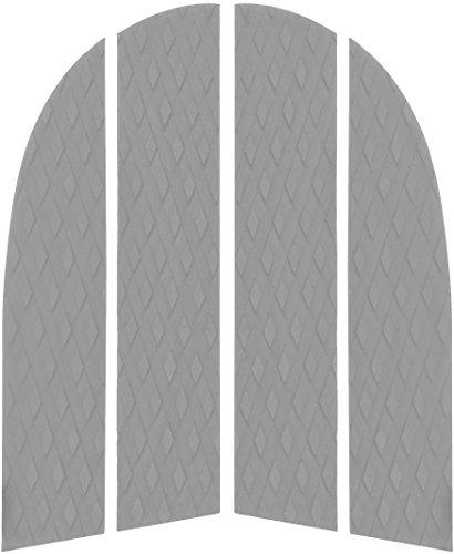 スタンドアップパドルボード マリンスポーツ サップボード SUPボード Punt Surf Dog Traction Pad - 4 Piece Customizable Deck Grip for The Nose of Your Paddleboards, Longboards & Surfboards. スタンドアップパドルボード マリンスポーツ サップボード SUPボード