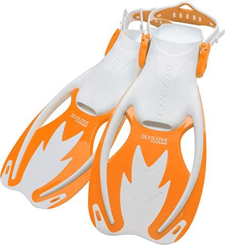 シュノーケリング マリンスポーツ Cressi Rocks fins, White/Orange, S/Mシュノーケリング マリンスポーツ