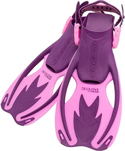 シュノーケリング マリンスポーツ USF020304P Cressi Rocks fins, pretty in pink, L/XLシュノーケリング マリンスポーツ USF020304P