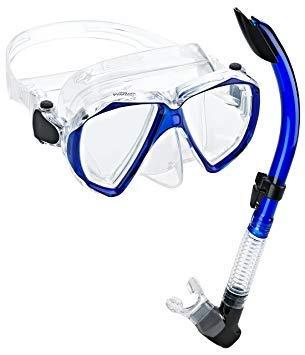 【メール便無料】 シュノーケリング マリンスポーツ PAQVMSC-BL-PP Phantom Mask Aquatics Phantom Velocity Scuba Velocity Snorkeling Mask Snorkel Set, Blueシュノーケリング マリンスポーツ PAQVMSC-BL-PP, 人気激安:ba2bc27c --- canoncity.azurewebsites.net