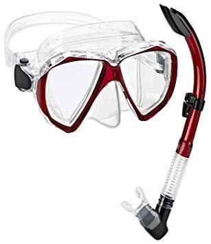 シュノーケリング マリンスポーツ PAQVMSC-RD-PP 【送料無料】Phantom Aquatics Velocity Scuba Snorkeling Mask Snorkel Setシュノーケリング マリンスポーツ PAQVMSC-RD-PP