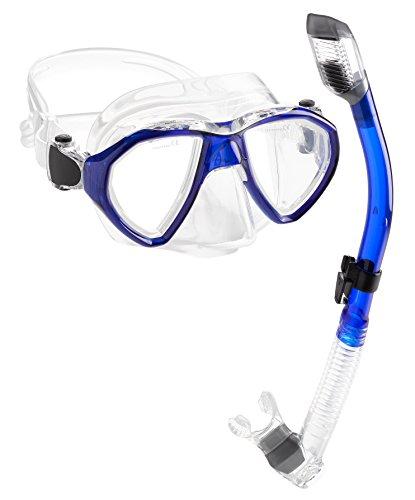 シュノーケリング マリンスポーツ 【送料無料】Phantom Aquatics Mexico Mask Dry Snorkel Setシュノーケリング マリンスポーツ