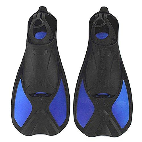 シュノーケリング マリンスポーツ A Point Children's Diving Light Short Fins Swimming Snorkeling Frog Shoes Multifunction Flippers (blue, M(7-8) 25.5cm)シュノーケリング マリンスポーツ