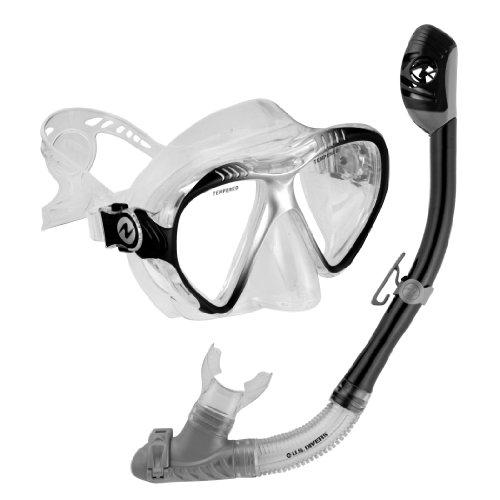 シュノーケリング マリンスポーツ 240290 U.S. Divers Adult Magellan Purge LX Mask/Tucson LX Snorkel (Black)シュノーケリング マリンスポーツ 240290