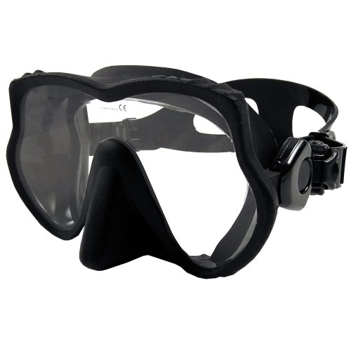 シュノーケリング マリンスポーツ Promate Raven Frameless Mask (Black)シュノーケリング マリンスポーツ