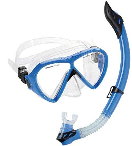 シュノーケリング マリンスポーツ USC100000B Cressi Bonete Combo (clear-blue)シュノーケリング マリンスポーツ USC100000B