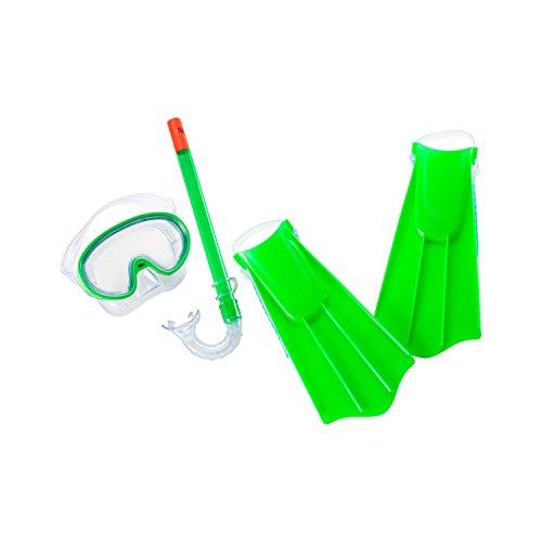 シュノーケリング マリンスポーツ 【送料無料】Speedo Kid's Aqua Quest Mask/Snorkel/Fin Setシュノーケリング マリンスポーツ