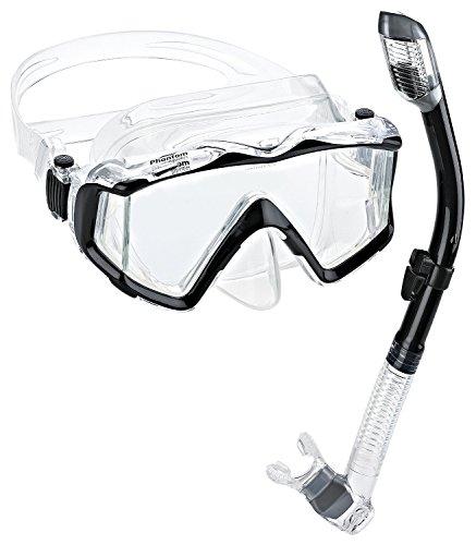 シュノーケリング マリンスポーツ Phantom Aquatics Panoramic Scuba Mask Snorkel Setシュノーケリング マリンスポーツ