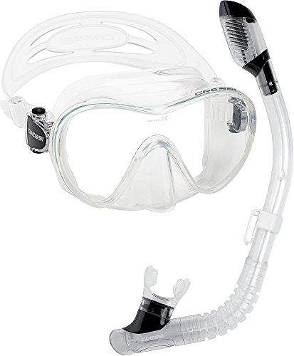 特売 シュノーケリング マリンスポーツ Frameless Cressi Junior Frameless Mask Dry Junior Snorkel Snorkel Set, Clearシュノーケリング マリンスポーツ, オリジナルバッグ ヒーズサック:c9a715b6 --- slope-antenna.xyz