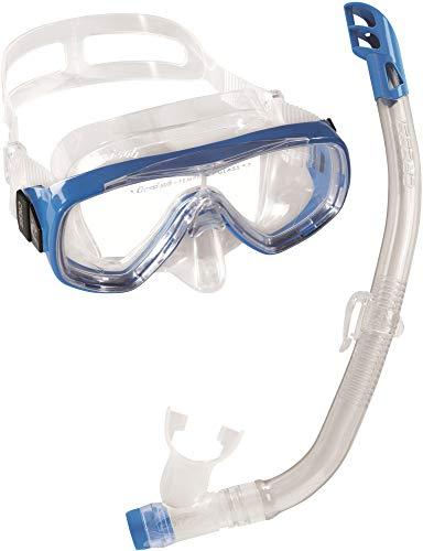 シュノーケリング マリンスポーツ DM1010132 Cressi Ondina & Top Jr, clear/blueシュノーケリング マリンスポーツ DM1010132