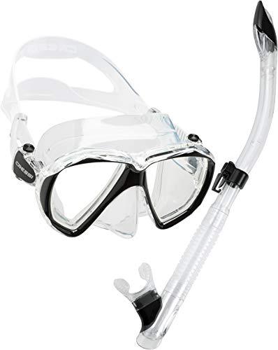シュノーケリング マリンスポーツ DS389050 Cressi Ranger & Tao, clear/blackシュノーケリング マリンスポーツ DS389050