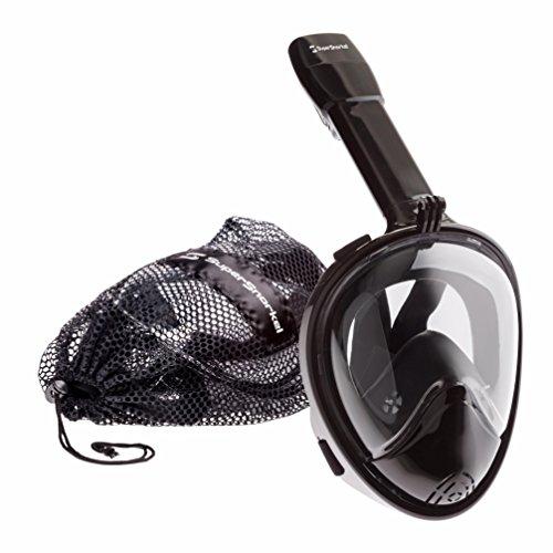 シュノーケリング マリンスポーツ Snorkeling ? Snorkel Gear for Easy Breathing & Unobstructed View ? Dry Snorkel Mask for Adults, Kids with GoPro Attachmentシュノーケリング マリンスポーツ