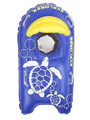 シュノーケリング マリンスポーツ SEA WINDOW Explorer Kids Snorkeling Raft: Next Generation with Camera Mountシュノーケリング マリンスポーツ