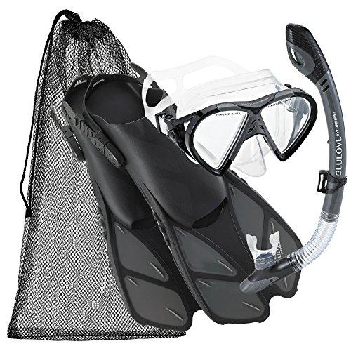 シュノーケリング マリンスポーツ 【送料無料】Cressi Adjustable Mask Fin Snorkel Set with Carry Bag, TT-SMシュノーケリング マリンスポーツ