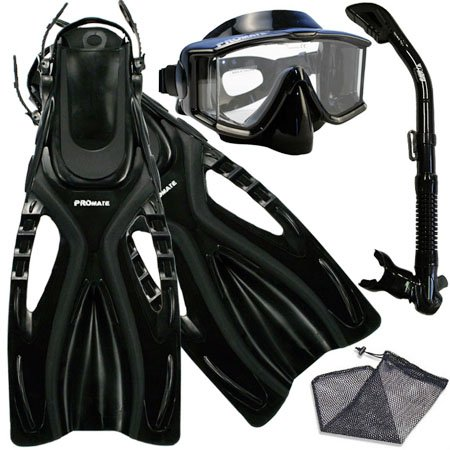 シュノーケリング マリンスポーツ scs0068-AB-sm, Dive Mask with Panaromic View PURGE Dry Snorkel Fins Snorkeling Set Scuba diving Gearシュノーケリング マリンスポーツ