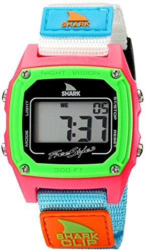 フリースタイル 腕時計 レディース アウトドアウォッチ特集 FS84861 Freestyle women's FS84861 Shark Clip Classic Retro Digital Watch Watch with Nylon Bandフリースタイル 腕時計 レディース アウトドアウォッチ特集 FS84861