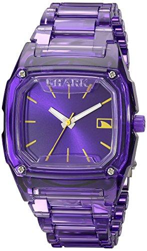 フリースタイル 腕時計 レディース 101989 Freestyle Women's 101989 Shark Purple Polycarbonate Watch with Link Braceletフリースタイル 腕時計 レディース 101989