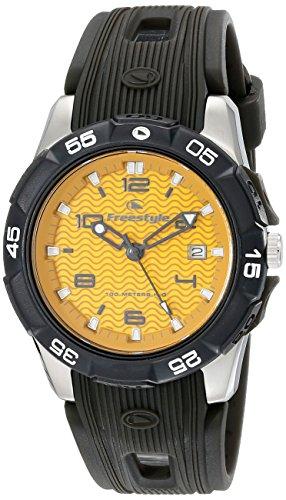 【送料無料】Freestyle 10019189 10019189 Men's メンズ 10019189 メンズ 腕時計 フリースタイル Japanese フリースタイル Analog Watch腕時計 Display Kampus Black Quartz