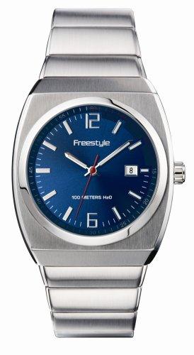 腕時計 フリースタイル メンズ 夏の腕時計特集 FS70730 【送料無料】Freestyle Men's FS70730 Triton Blue Dial Stainless Steel Bracelet Watch腕時計 フリースタイル メンズ 夏の腕時計特集 FS70730